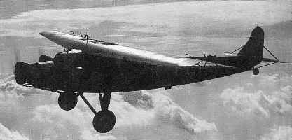 A KLM F.XII with a flat-top fuselage