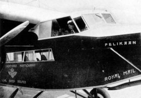 Fokker F.XII, the pilots in KLM uniform