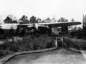 The F.XIV found its final destination in a children's play ground at the 'Soesterdal' restaurant near the Dutch air force Soesterberg air base