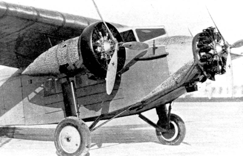 Fokker F.XIVa-3M, a passengerversion of the F.XIV