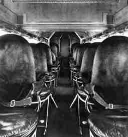 The cabin of the Fokker F.20