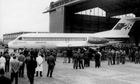 Fokker F.28 Roll-out at april 4, 1967