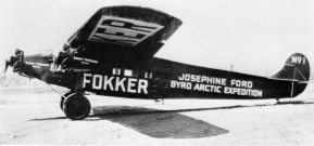 Fokker F.VIIa-3M Byrd expedition