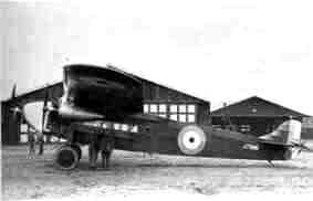 The only F.VIIa-3m sold to England where it was fitted with an other wing