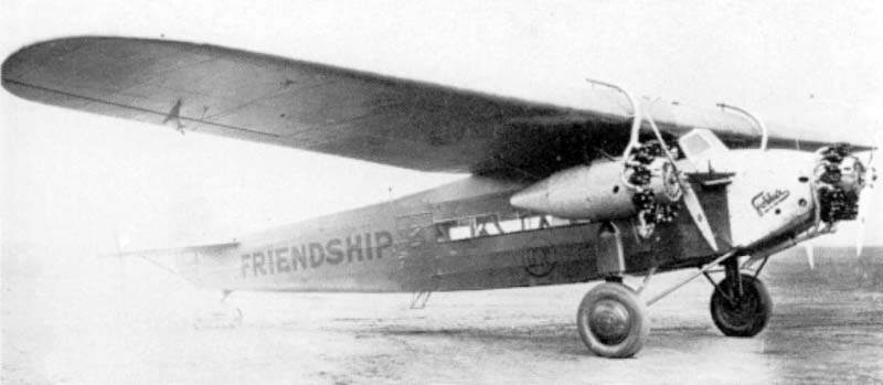 The Friendship from Amelia Earhart, however with standard wheels instead of floats