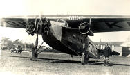 Fokker FVIIb-3M with Anthony Fokker on the right