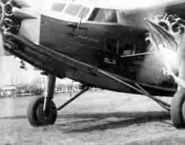 Fokker F.9 at Waalhaven, just prior to take-off