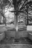 Wings on the grave of Anthony Fokker, Westerveld cemetery, the Netherlands