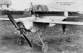 Anthony Fokker in the first E.1