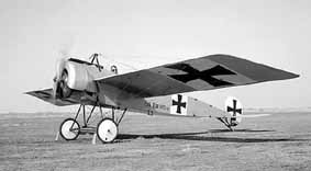 This aircraft is a full-scale reproduction of one of the most historically significant German combat aircraft of World War I
