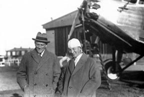 Albert Plesman and Anthony Fokker: they gave the Netherlands a special place in the development of civil air traffic
