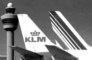 KLM and Air France, joined together since 2004